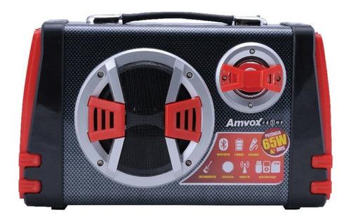caixa de som bluetooth amvox aca 110