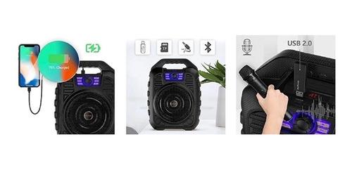 caixa de som bluetooth com controle megafone karaoke extreme