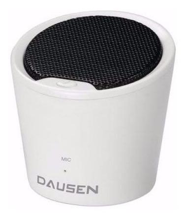 caixa de som bluetooth dausen tr-as058wt branca código: 5154