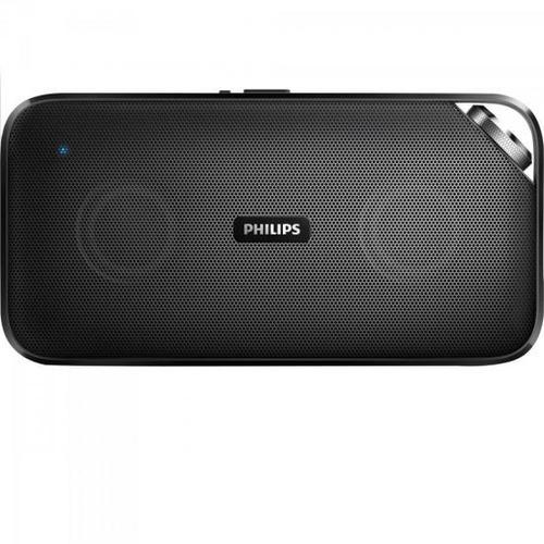 caixa de som bluetooth estéreo microfone embutido philips