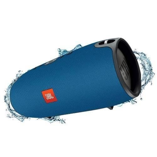 caixa de som bluetooth jbl extreme 40w - azul