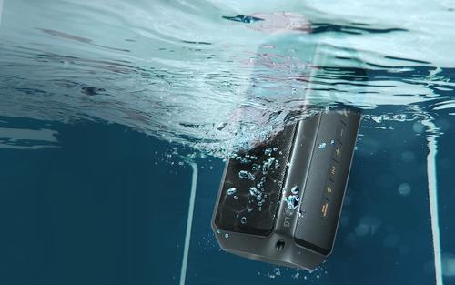 caixa de som bluetooth lg pk3 xboom 16w - prova d'água