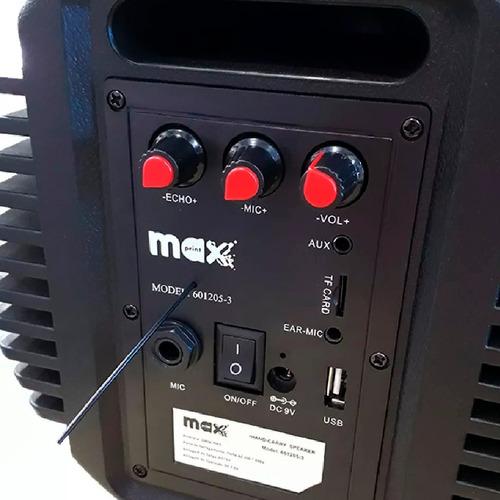 caixa de som bluetooth max festa maxprint 100w promoção!
