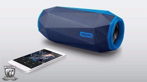 caixa de som bluetooth philips shoqbox sb500 30w original