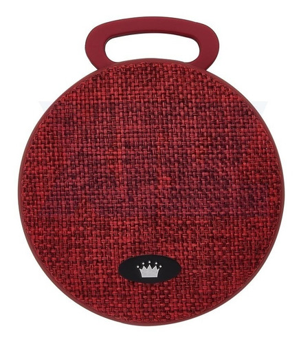 caixa de som bluetooth portátil kimaster k300 (vermelha)