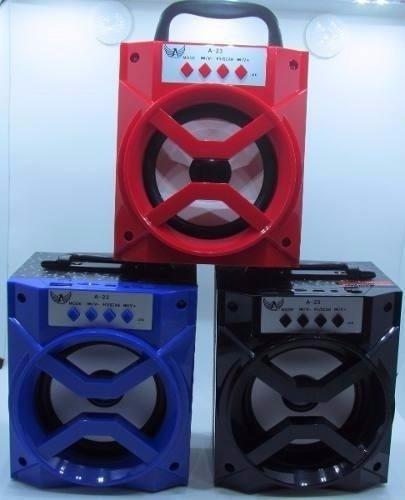 caixa de som bluetooth portátil rádio fm micro sd 8w