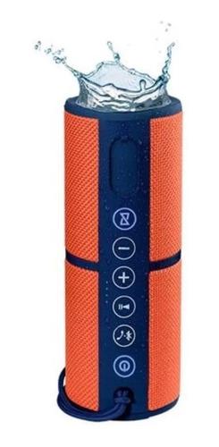 caixa de som bluetooth pulse, só na cor laranja 15w