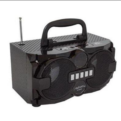 caixa de som bluetooth radio fm 8w mp3 sd universal celular