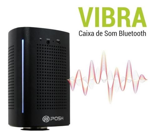 caixa de som bluetooth sem fio 36w super bass, 3 modos vibra