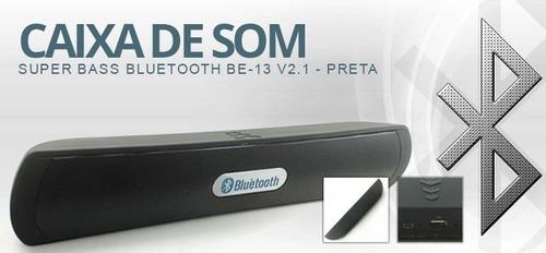 caixa de som bluetooth stereo 2.1 alta performance sem fio