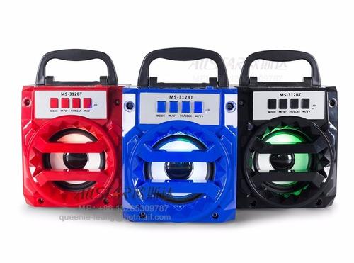 caixa de som bluetooth usb e entrada cartão de memoria