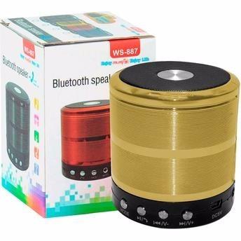 caixa de som bluetooth ws887 speaker ipad, iphone, android