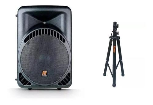 caixa de som c/ usb biamplificada staner 520w rms - ps 520a