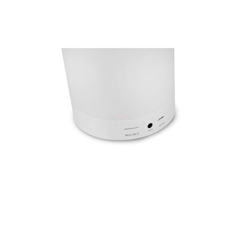 caixa de som c3 tech bluetooth luminus touch led sp-bl1000wh