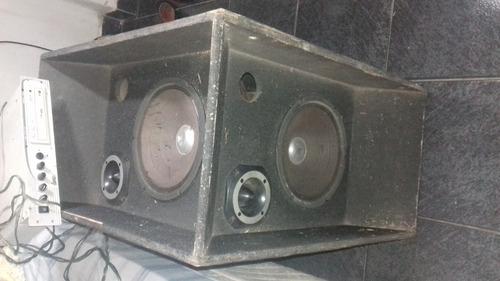 caixa de som com cd player