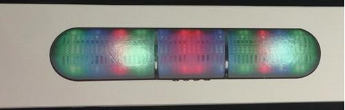 caixa de som com luzes balada wireless bluetooth fm usb