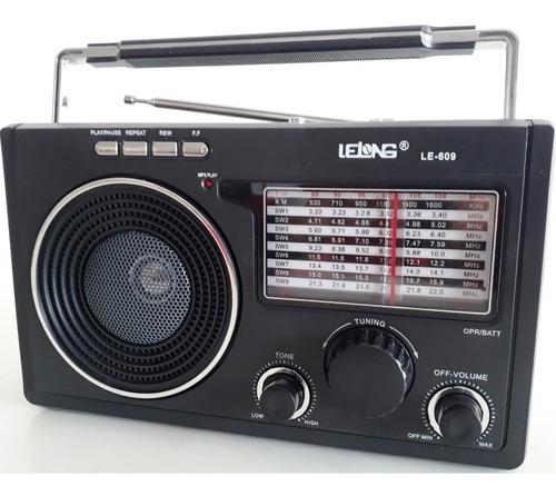 caixa de som com radio am fm - áudio portátil mercado livre