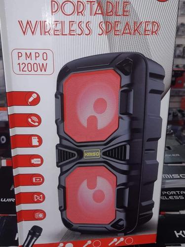 caixa de som com usb  e microfone