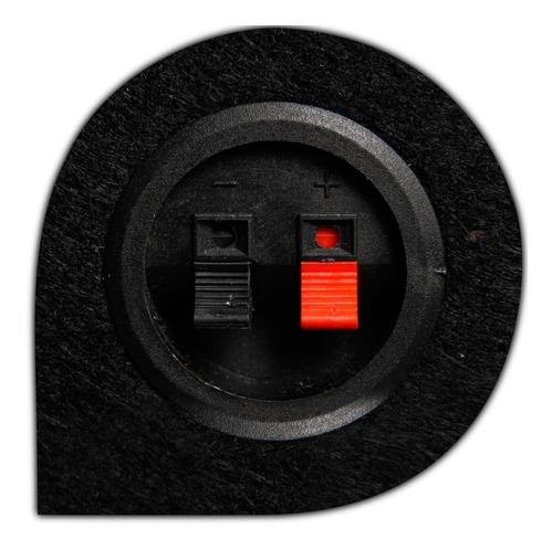 caixa de som dutada 10 polegadas 250 wrms