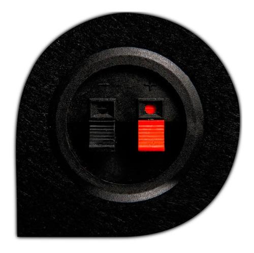 caixa de som dutada 12 polegadas trio 350 wrms total