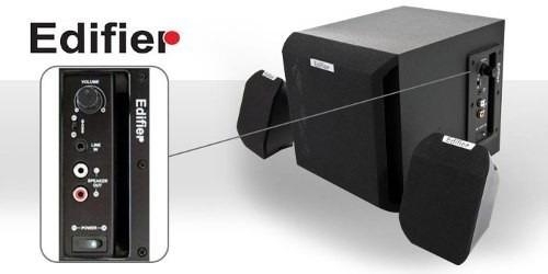 caixa de som edifier 2.1 subwoofer x100 bivolt
