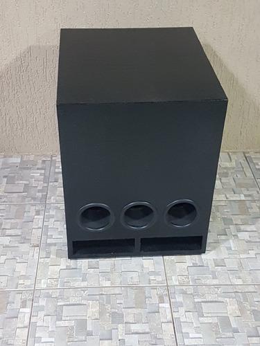 caixa de som gabinete antera 15 polegadas somente gabinete