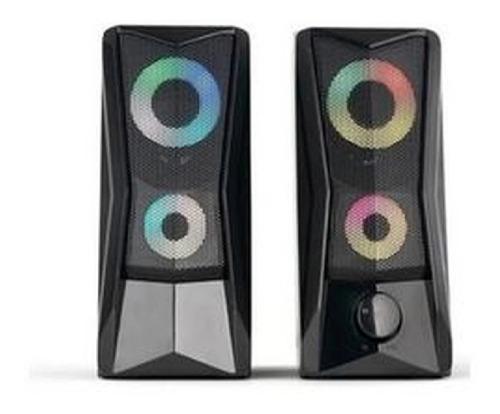caixa de som gamer p/ pc notebook tv usb p2 potente gt-s3