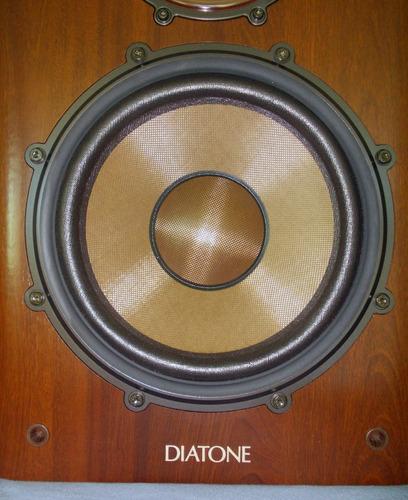 caixa de som high-end  diatone ds 1000 zx vintage nova! somente essa seman r$ 9,900,00