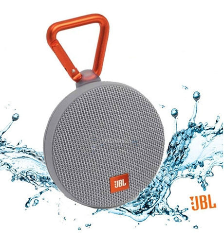caixa de som jbl clip 2 viva-voz bluetooth prova d'água