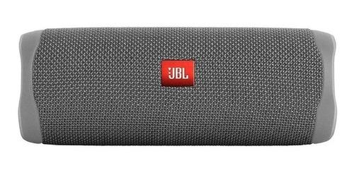 caixa de som jbl flip 5 portátil sem fio grey