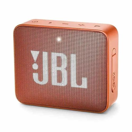caixa de som jbl go 2 laranja portátil 3w original bluetooth