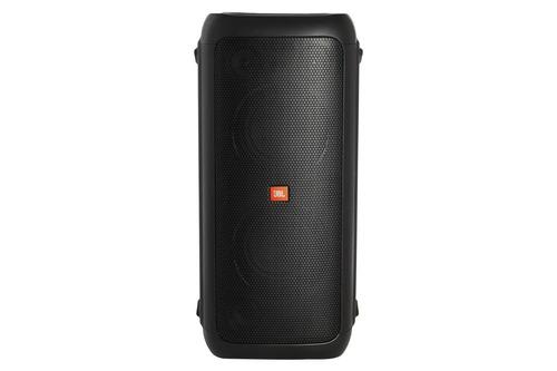 caixa de som jbl portátil bluetooth com luzes party box 200