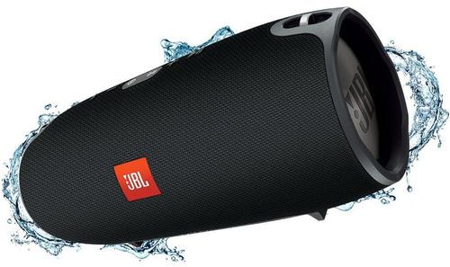 caixa de som jbl xtreme 40w bluetooth resistente agua preta