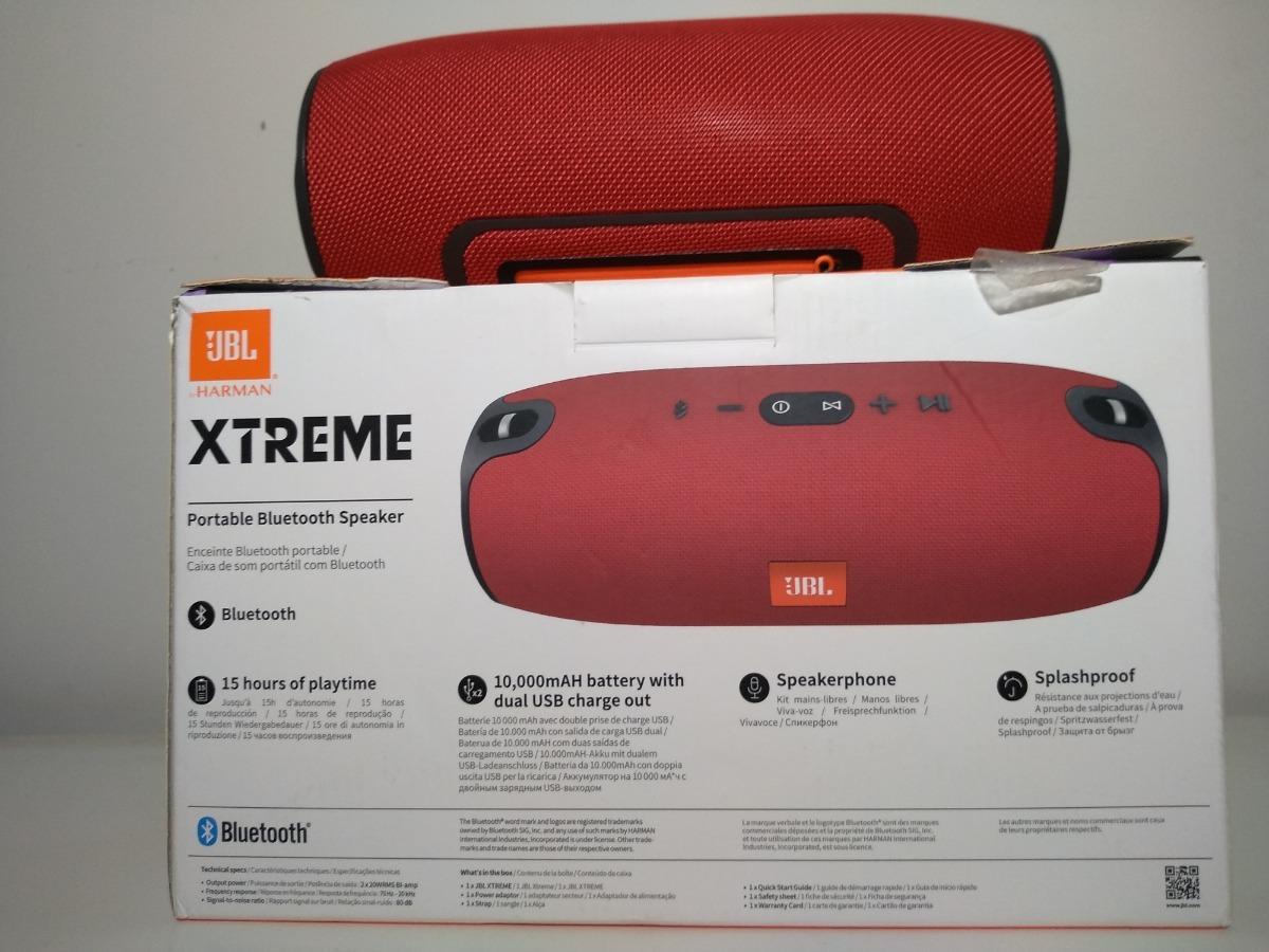 Caixa De Som Jbl Xtreme Original 40w