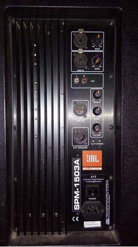 caixa de som jbl1503a ativa e jbl1503 passiva