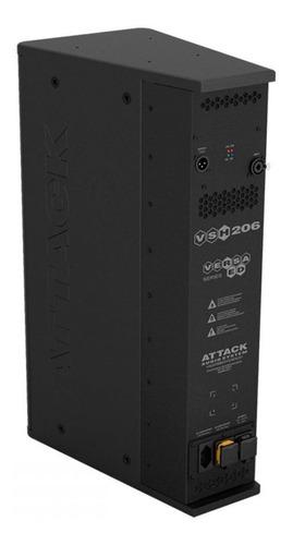 caixa de som line vertical attack versa red vsh 206