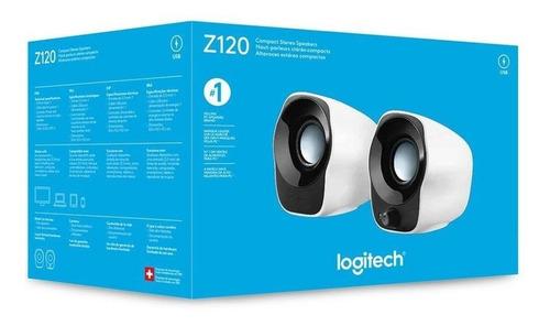 caixa de som logitech z120 usb pronta entrega