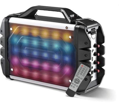 caixa de som multiuso bt/ led/ microf sp251