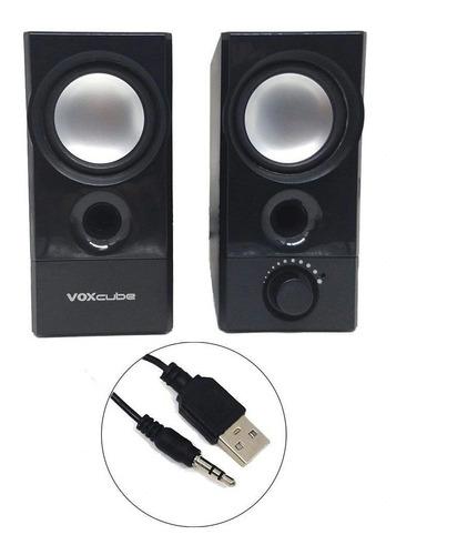 caixa de som p/ computador/smartphone/notebook 10w com bass