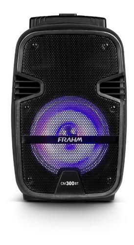 caixa de som para aula com entrada de microfone frahm bt