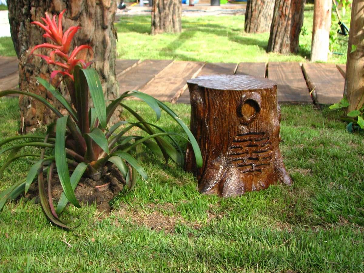 pedras para jardim mercado livre : pedras para jardim mercado livre:Caixa De Som Para Jardim Tronco – R$ 499,00 em Mercado Livre