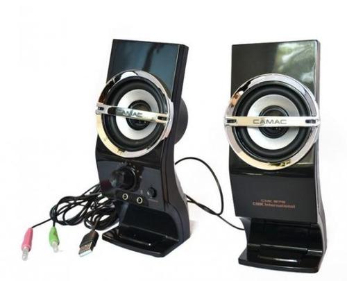 caixa de som para pc potente m878 notebook celular usb
