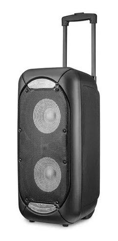 caixa de som party speack double 8p 800w sp342