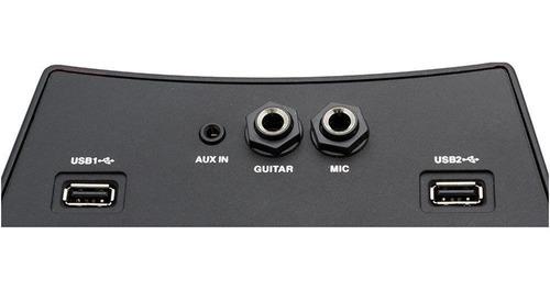 caixa de som philco 100w bluetooth aux dual usb microfone fm