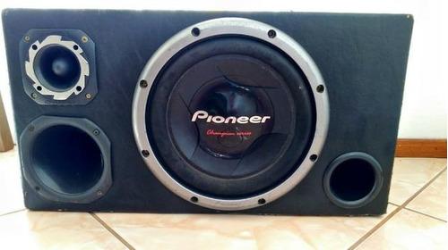 caixa de som pioneer e módulo