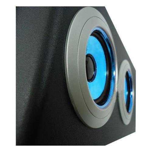 caixa de som portátil 2.1 30w subwoofer radio fm+mp3+ sd+aux