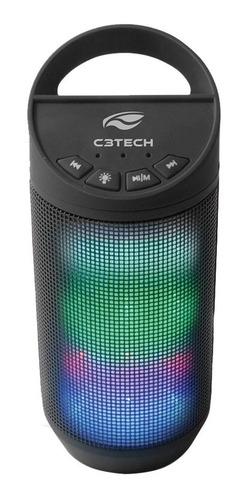 caixa de som portátil beat c3 tech sp-b50bk bluetooth