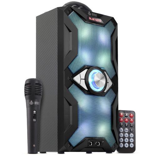 caixa de som portátil bluetooth m884bt mp3 microfone grátis