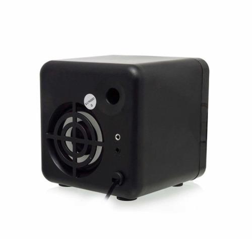 caixa de som portatil bluetoth 2.1  fm pc micro system b6012