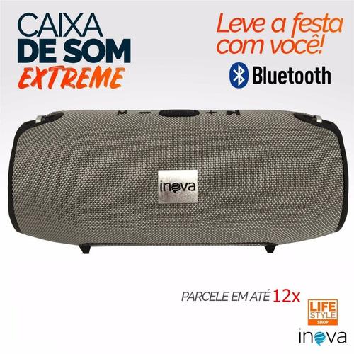 caixa de som portátil blutooth inova alta qualidade extreme